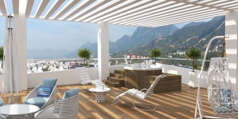 Kyrenia Heights Ultra-Modern 4 Bed Apartment 3 - North Cyprus Property