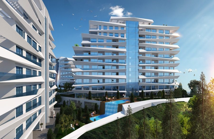 Kyrenia Heights Ultra-Modern Apartments 1 - North Cyprus Property