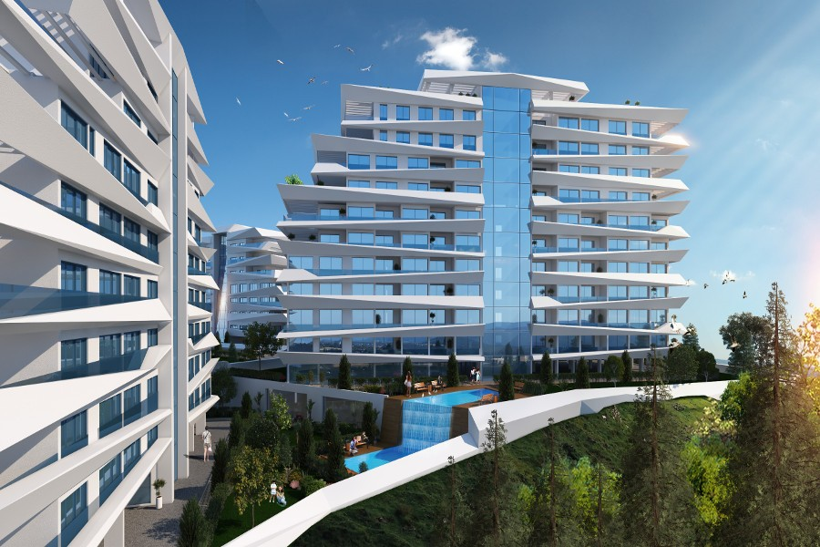 Kyrenia Heights Ultra-Modern 1 Bed Apartment