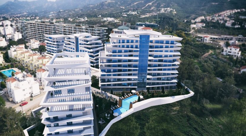 Kyrenia Heights Ultra-Modern Apartments 12 - North Cyprus Property