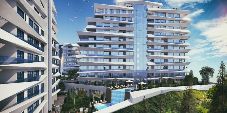 Kyrenia Heights Ultra-Modern Apartments 2 - North Cyprus Property