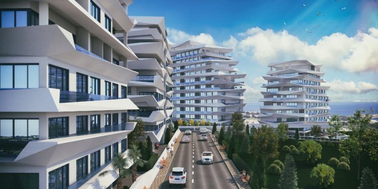 Kyrenia Heights Ultra-Modern Apartments 4 - North Cyprus Property