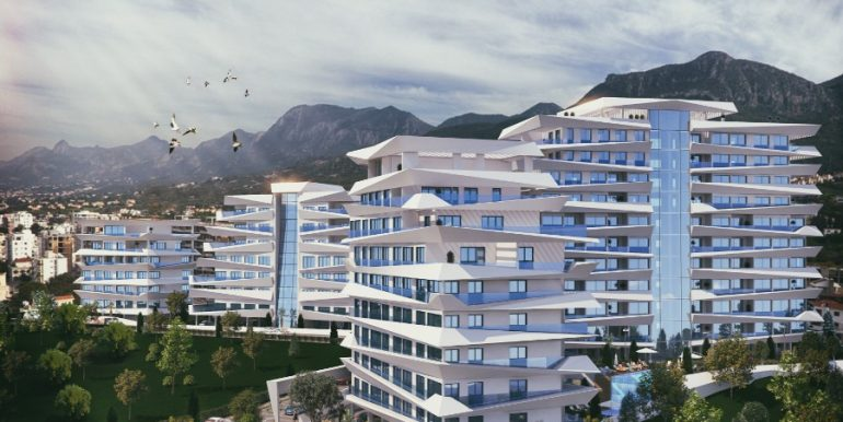 Kyrenia Heights Ultra-Modern Apartments 6 - North Cyprus Property