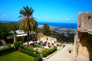 A view from Bellapais Monastery - North Cyprus