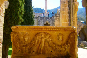 Bellapais Monastery (An old tomb) - North Cyprus