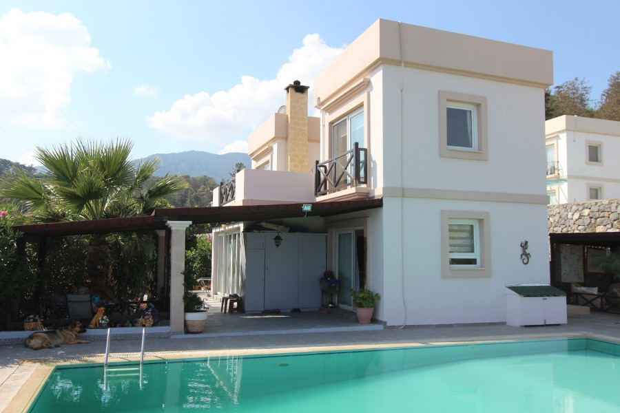 Esentepe Seaview Village Villa 3 Bed