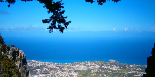 Kyrenia View from St Hilarion Castle - North Cyprus