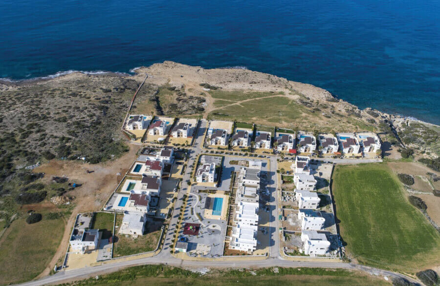 Tatlisu Bay Luxury Villas and Apartments Site Plan - North Cyprus International