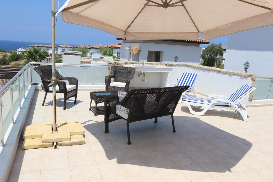 Tatlisu Beach Luxury Seaview Villa – 3 Bed