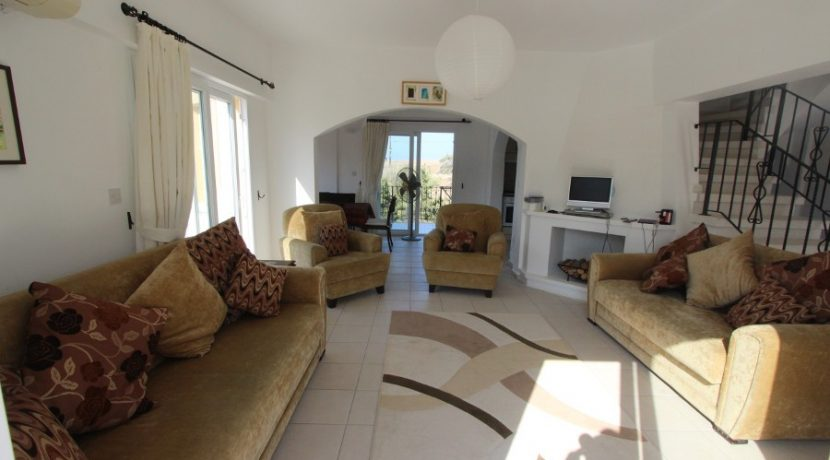 Bahceli Beachfront Seaview Villa IN19 - North Cyprus Properties