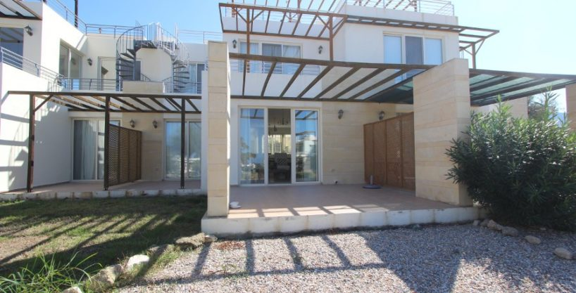 Turtle Beach & Golf Seaview Garden Apt 2 Bed EX14 - North Cyprus Properties