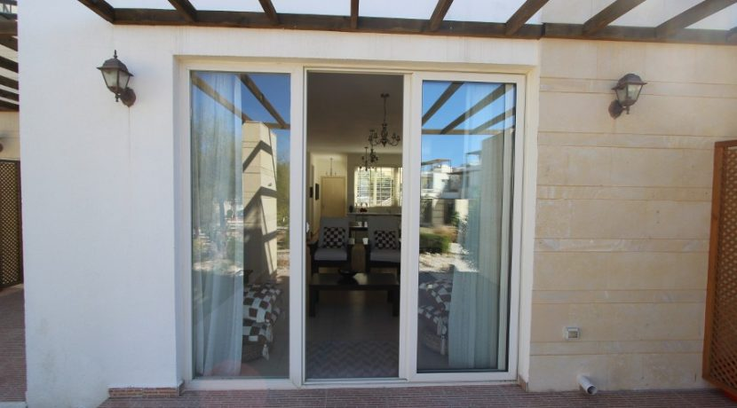 Turtle Beach & Golf Seaview Garden Apt 2 Bed EX15 - North Cyprus Properties