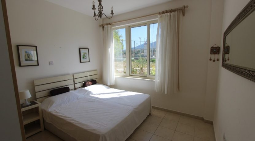Turtle Beach & Golf Seaview Garden Apt 2 Bed IN1 - North Cyprus Properties
