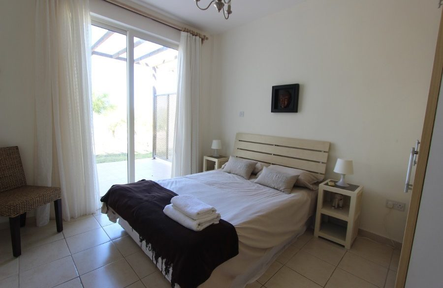 Turtle Beach & Golf Seaview Garden Apt 2 Bed IN10 - North Cyprus Properties