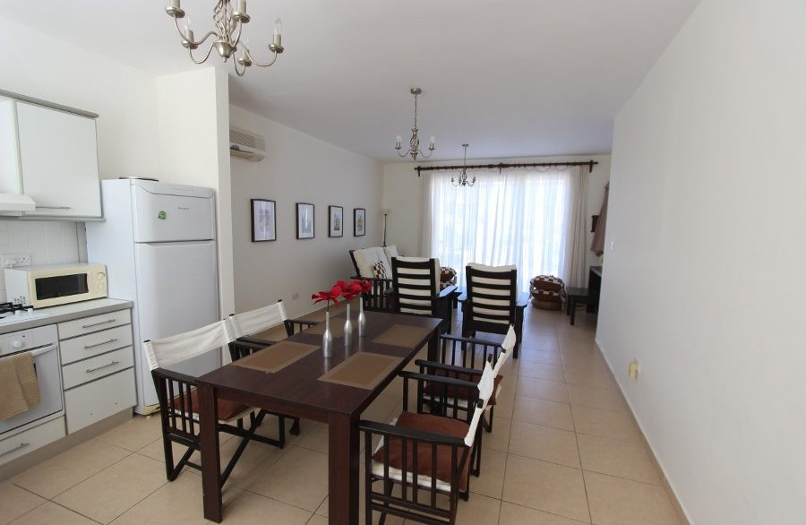 Turtle Beach & Golf Seaview Garden Apt 2 Bed IN14 - North Cyprus Properties