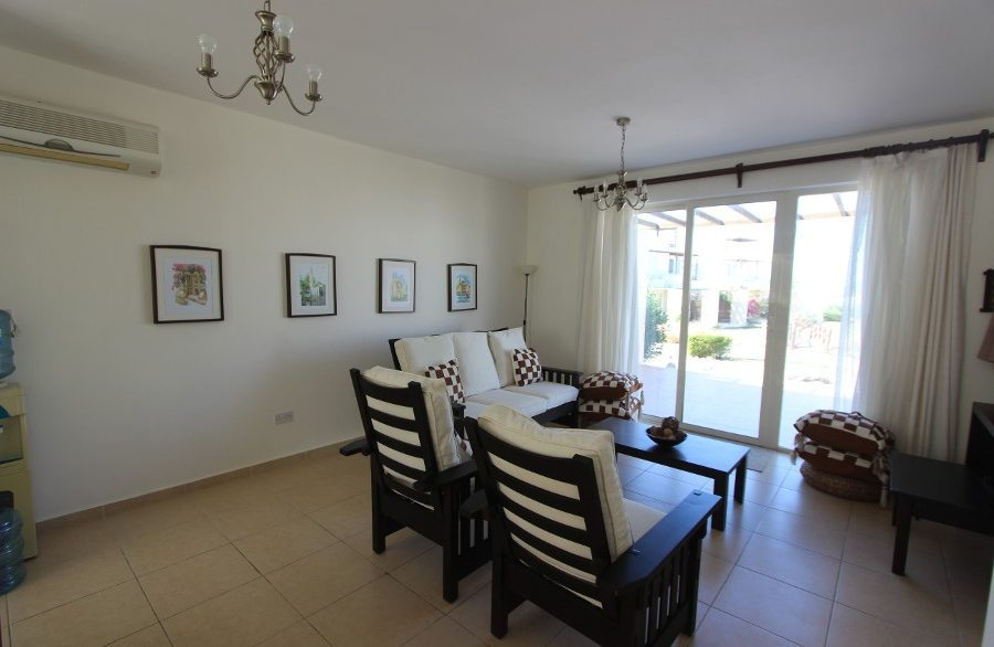 Turtle Beach & Golf Seaview Garden Apt 2 Bed IN15 - North Cyprus Properties