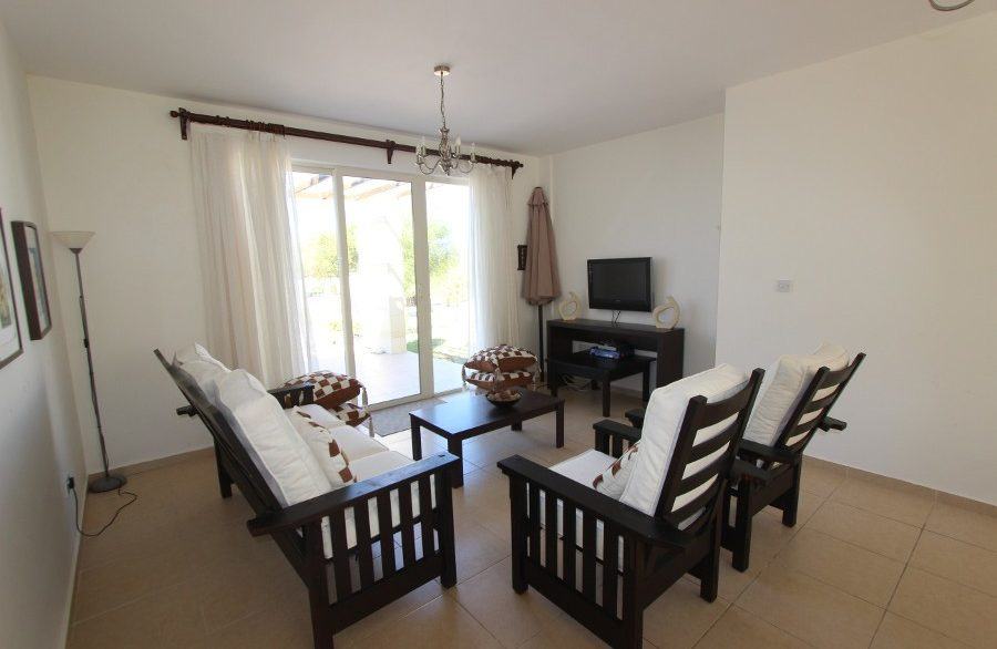 Turtle Beach & Golf Seaview Garden Apt 2 Bed IN20 - North Cyprus Properties