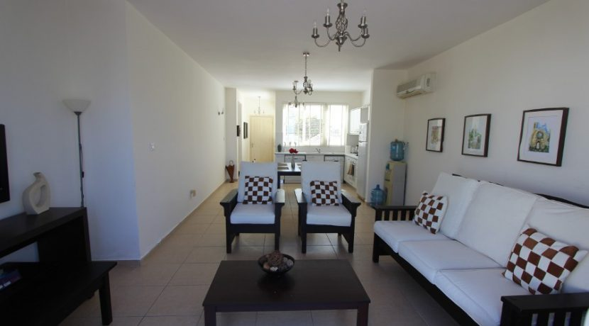 Turtle Beach & Golf Seaview Garden Apt 2 Bed IN22 - North Cyprus Properties