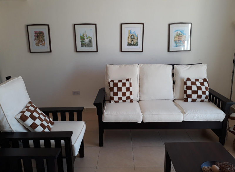 Turtle Beach & Golf Seaview Garden Apt 2 Bed - North Cyprus Properties A 4
