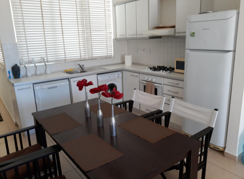 Turtle Beach & Golf Seaview Garden Apt 2 Bed - North Cyprus Properties A 6
