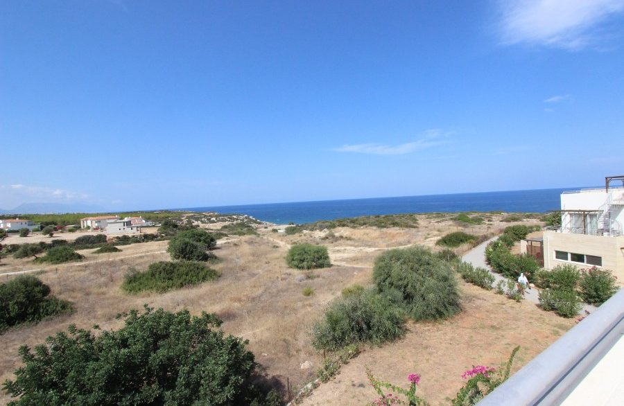 Turtle Beach & Golf Seaview Penthouse Apt 2 Bed EX16 - North Cyprus Properties