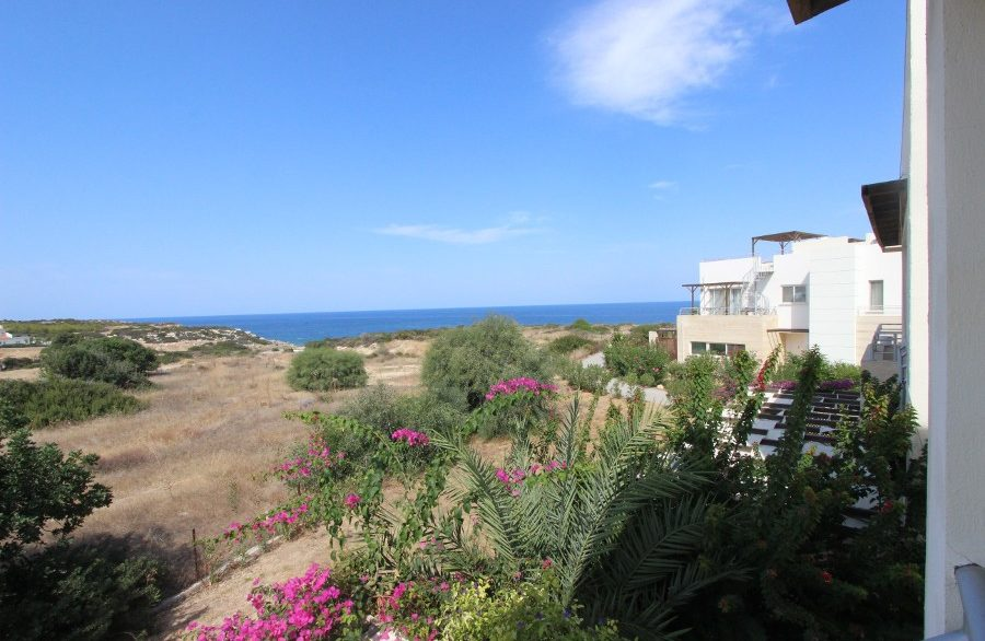 Turtle Beach & Golf Seaview Penthouse Apt 2 Bed EX4 - North Cyprus Properties