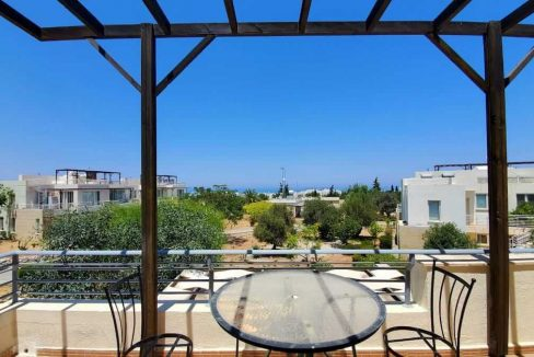 Turtle Beach & Golf Seaview Penthouse Apt 2 Bed - North Cyprus Properties Z35