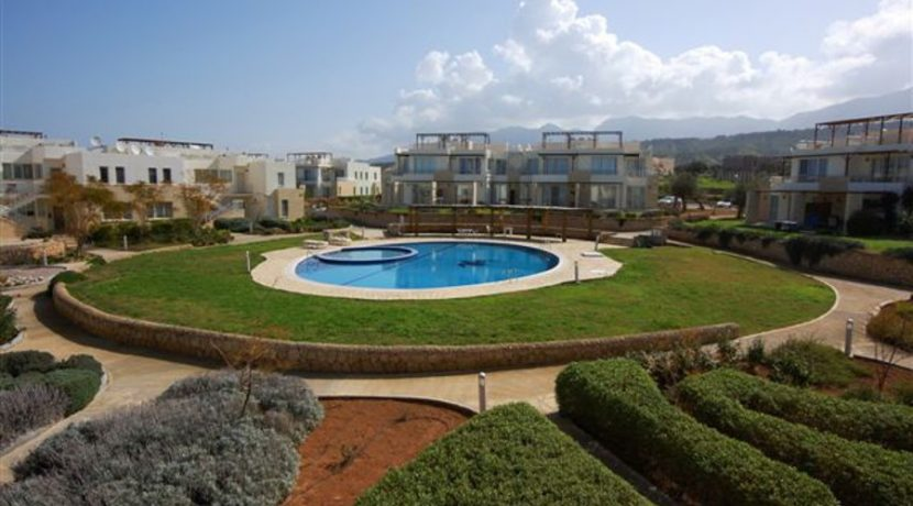 Turtle Beach Seaview Garden Apt 2 Bed EA1 - North Cyprus Properties