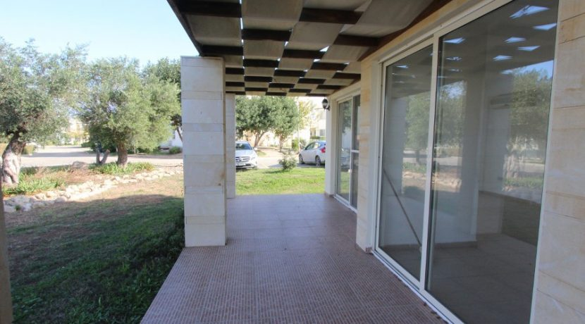 Turtle Beach Seaview Garden Apt 2 Bed INS19 - North Cyprus Properties