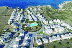 Traditional Cyrus Tatlisu Villas Arial View - North Cyprus Properties