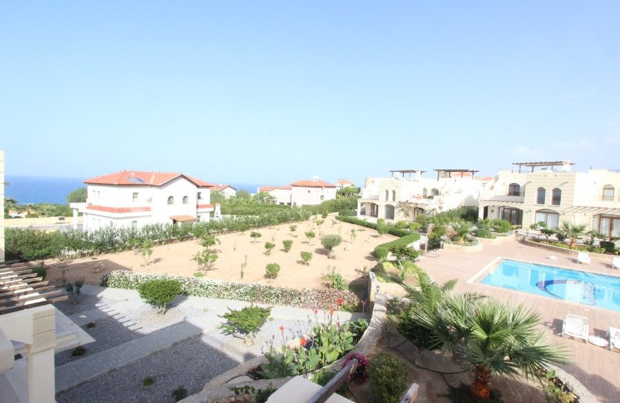 Bahceli Seaview Townhouses 2 Bed EX15 - North Cyprus Properties