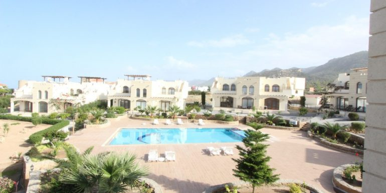 Bahceli Seaview Townhouses 2 Bed EX16 - North Cyprus Properties
