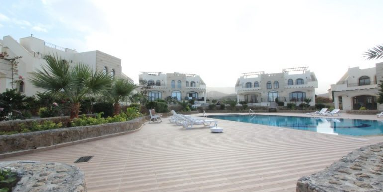 Bahceli Seaview Townhouses 2 Bed EX6 - North Cyprus Properties