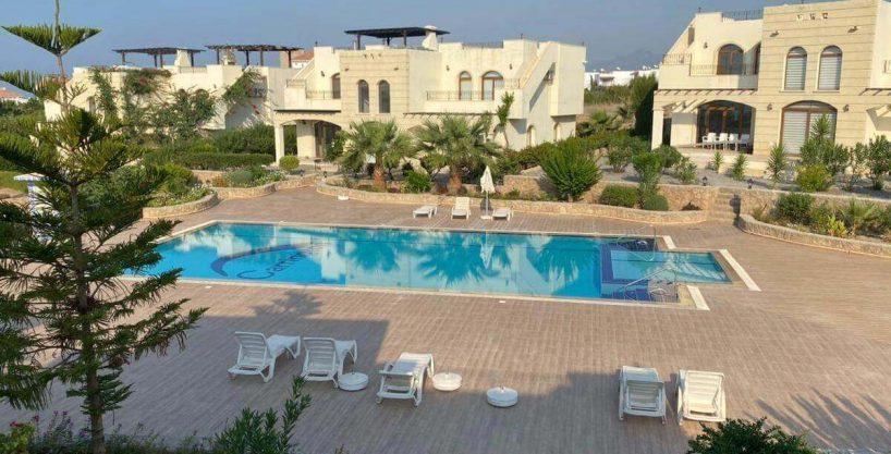 Bahceli Semi-Detached Seaview Villa 2 Bed