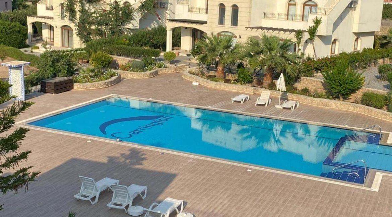 Bahceli Semi Detached Seaview Villa 2 Bed - North Cyprus Property 3