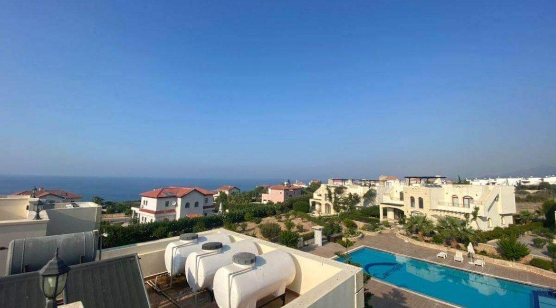 Bahceli Semi Detached Seaview Villa 2 Bed - North Cyprus Property 8