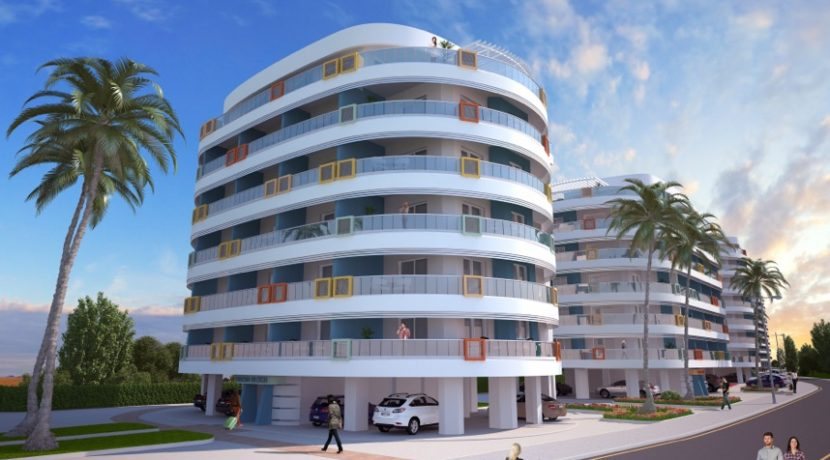 Long Beach Apartments 1- North Cyprus Properties