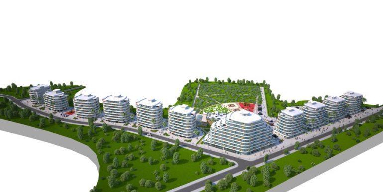 Long Beach Apartments Landscape5- North Cyprus Properties
