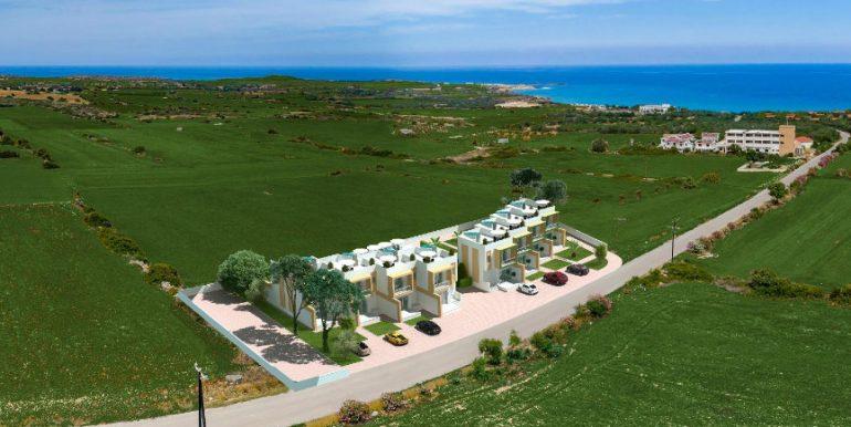 Karpaz Seaview Town Houses - North Cyprus Property 11