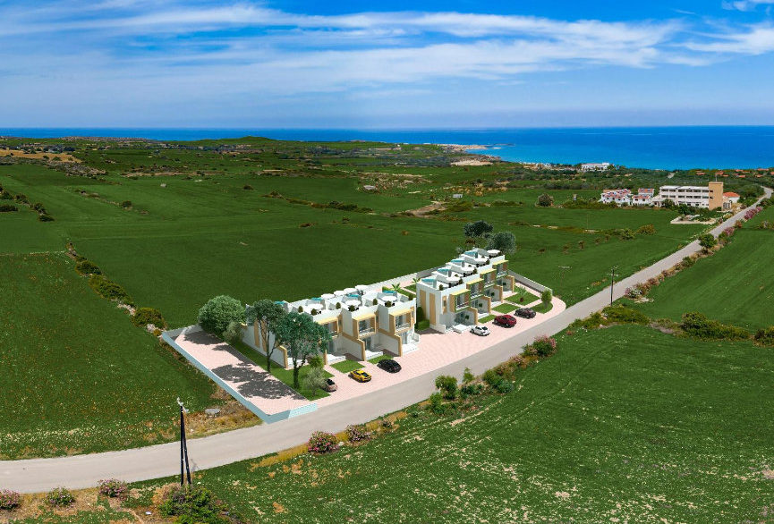 Karpaz Seaview Town Houses - North Cyprus Property 11