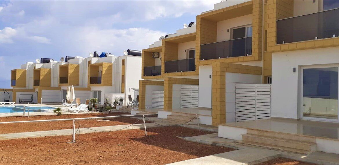 Karpaz Seaview Town Houses - North Cyprus Property Z4
