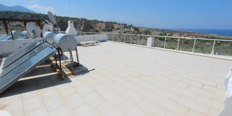 Esentepe Seaview Penthouse 2 Bed - North Cyprus Property 13