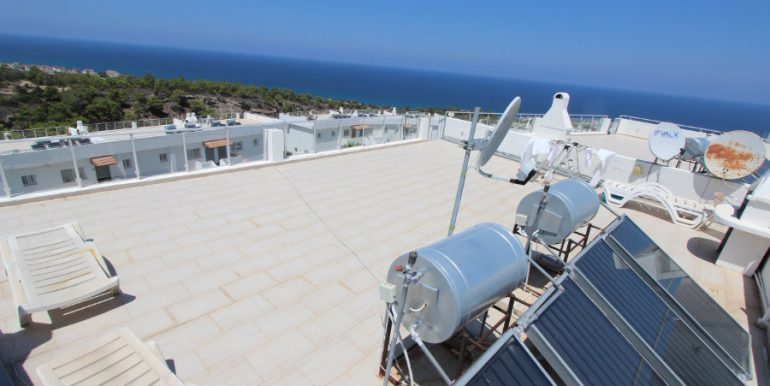 Esentepe Seaview Penthouse 2 Bed - North Cyprus Property 14