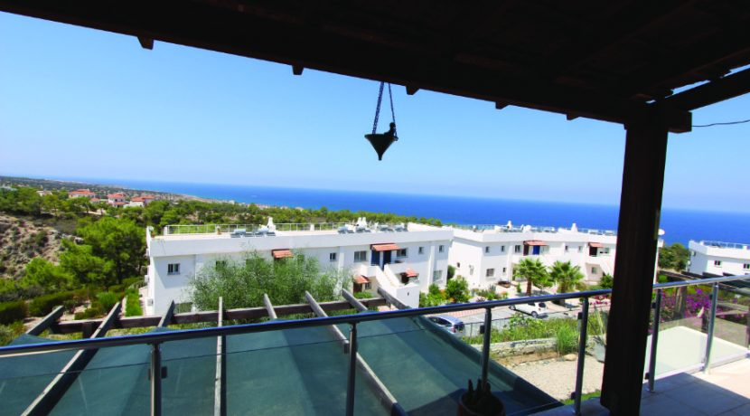 Esentepe Seaview Penthouse 2 Bed - North Cyprus Property 7