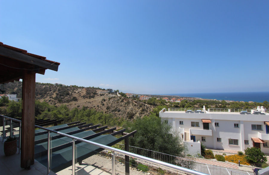 Esentepe Seaview Penthouse 2 Bed - North Cyprus Property 8