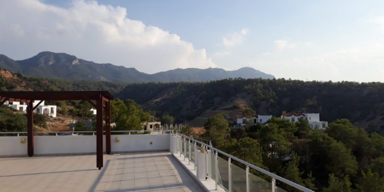 Esentepe Seaview Penthouse 2 Bed - North Cyprus Property A2