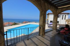 Luxury Frontline Seaview Villa 3 Bed - North Cyprus Property 1