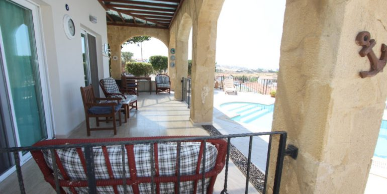Luxury Frontline Seaview Villa 3 Bed - North Cyprus Property 14