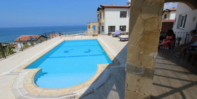 Luxury Frontline Seaview Villa 3 Bed - North Cyprus Property 2