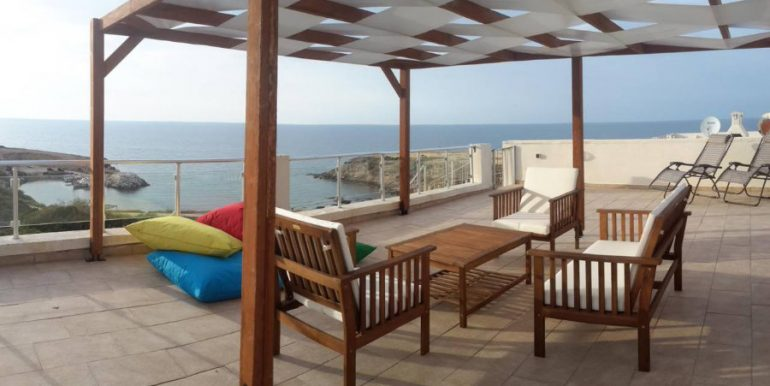 Marine View Frontline Penthouse 2 Bed - North Cyprus Property 8